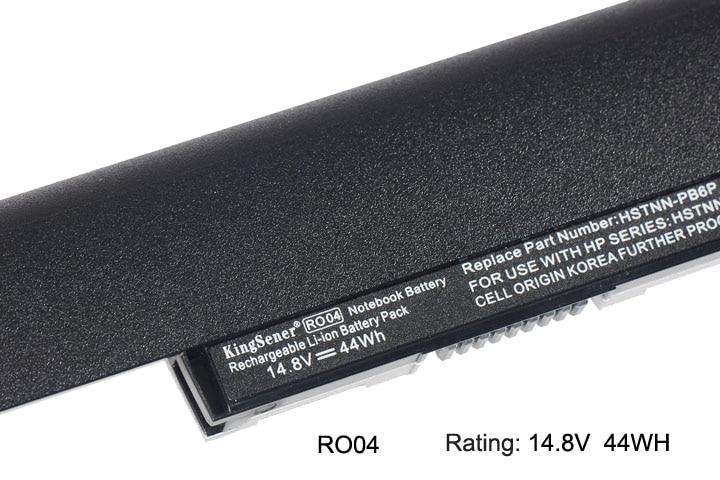 KingSener New RO04 Battery for HP ProBook 400 440 G3 430 G3 RO04XL - Aksesori komputer riba - Foto 4