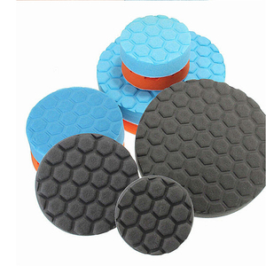 Image 2 - 3PCS 4/6/7 Inch Buffing Sponge Polishing Pad Kit Set For Car Polisher Buffer 003 car accessories cleaning car detailing tools