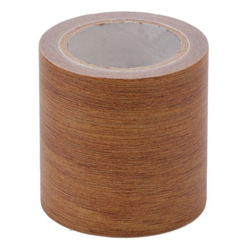 6 Colors 5M Woodgrain Realistic Repair Tape Furniture Adhesive Sealers Tape