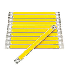 120MM Strip LED COB Chip 12V 10W LED Lamp for Drone Decor Lighting Car Lights Green Blue Red White Color 12cm COB Bar Light Bulb(China)