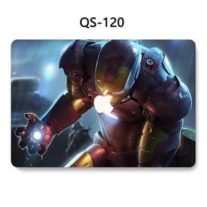 Image 2 - Pour nouveau portable MacBook étui pour ordinateur portable MacBook manchon Air Pro Retina 11 12 13.3 15.4 pouces avec écran protecteur clavier Cove