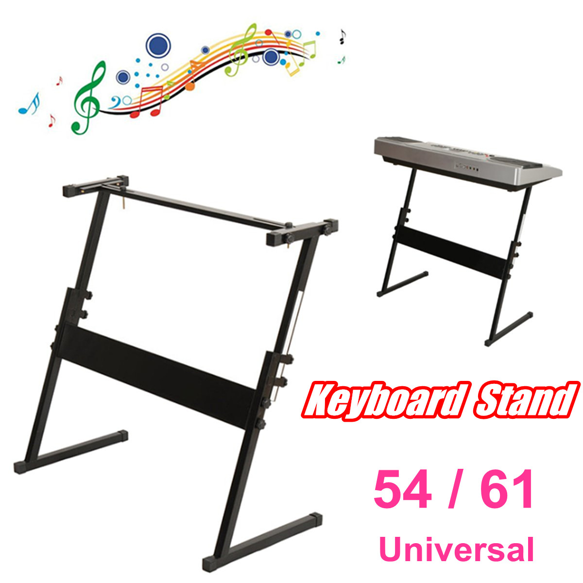 Adjustable Z-Type DJ Mixer Game Console Heavy   Music Electronic 54/61 Keyboard Stand Electric Digital Piano Organ HolderAdjustable Z-Type DJ Mixer Game Console Heavy   Music Electronic 54/61 Keyboard Stand Electric Digital Piano Organ Holder