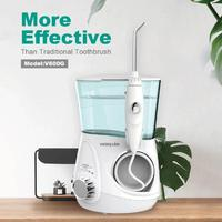 700mL Waterpluse V600G Electric Oral Irrigator Water Jet Dental Water Flosser Oral Teeth Cleaning for Adult 100V 240V