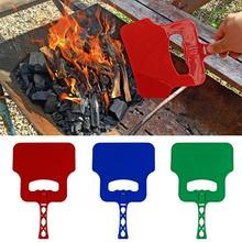 Профессиональный для барбекью ручной вентилятор с поддержкой сгорания открытый приготовления ручной кривошипный инструмент для барбекю случайный цвет