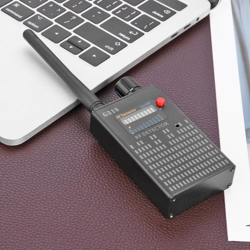 G318 Wireless Signal Bug Detector Anti Candid Camera GPS Location Tracker Anti eavesdropping surveillance and anti camera(EU)