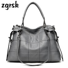 Women Genuine Leather Luxury Handbags High Quality Bags Designer Women Shoulder Bag Ladies Cacual Totes Crossbody Bags For Women
