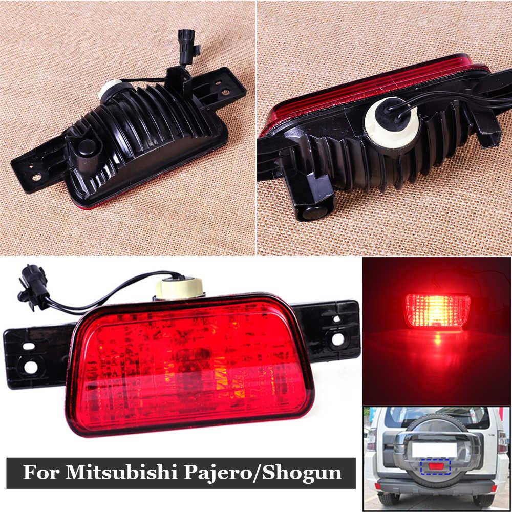 Neumático de repuesto trasero cubierta cola lámpara de niebla para Mitsubishi Pajero Shogun 8337A089 2007, 2008, 2009, 2010, 2011, 2012, 2013 2014, 2015
