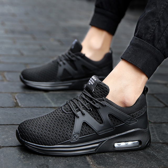 Men Casual Shoes Spring/Autumn Breathable Outdoor Running Shoes Men Air Mesh Sneaker Flat Mens Casual Sports Shoes Men 2019