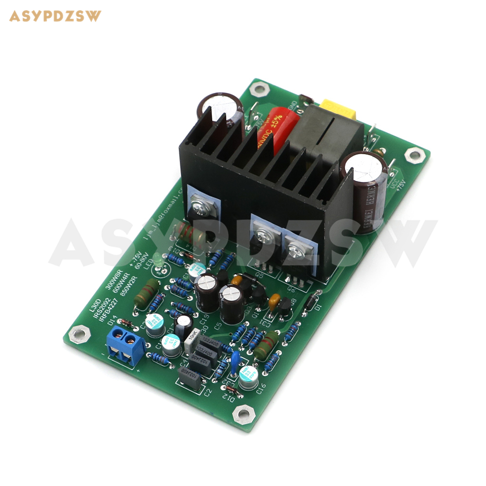 L30d Digital Mono Power Verstärker Fertig Bord 850 Watt Irs2092s Irfb4227 Iraudamp9 Durchsichtig In Sicht Unterhaltungselektronik Heim-audio & Video