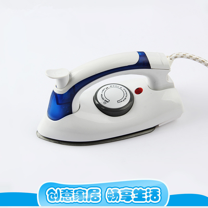 Folding Travel Household Steam Electric Iron Hand-Held Mini Iron Small Portable Ironing Machine