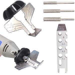 Image 2 - Lanlan afiar acessório acessório acessório serra de corrente ferramentas de moagem do dente com moedor elétrico acessórios ferramentas jardim ao ar livre
