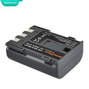 Image 2 - Bonacell batterie dappareil photo numérique Canon rebelle, 1700 mAh, NB 2L NB2L,