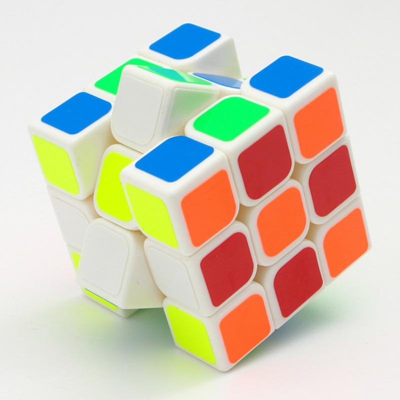 QIYI Neo Fidget Magic Cube Magic 3x3x3 5 6CM Carbon Fiber Sticker Professional Cubo Magic Toys For Children in Magic Cubes from Toys Hobbies