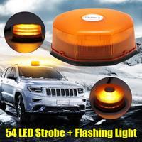 Universal Beacon Light LED Flashing Warning Light Car Bus Truck Magnetic Emergency Strobe Indicator Lights Top Roof Warning Lamp