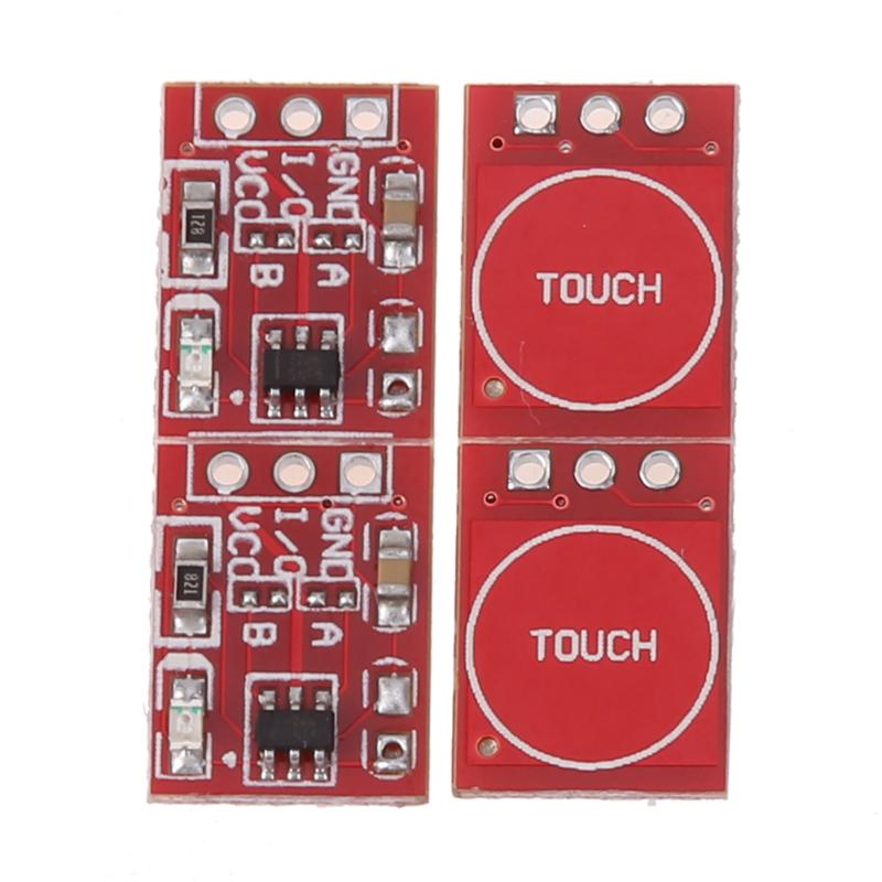 Consumer Electronics The Best Claite 1pc 2.5-5.5v Ttp223 Capacitive Touch-switch Button Self Lock Module For Arduino Circuits