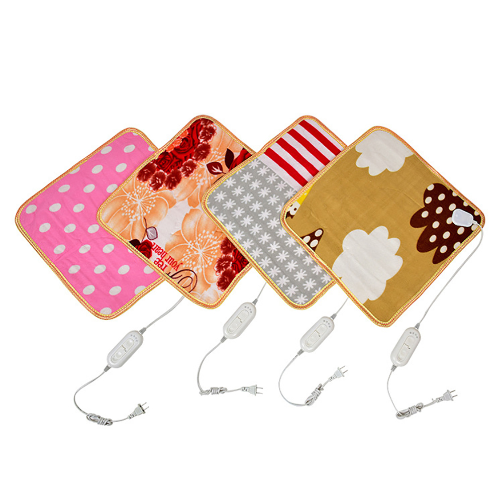 45x45cm Dog Cat Pet Heating Pads Electric Heated Blanket Home Office Car Warm Blanket Cushion Mat Pets Heating Sleeping Bed Mat
