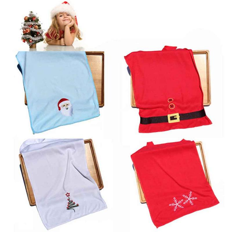 New Christmas Towel Wipes Household Items Supplies Gifts Microfiber Multi-functional Towels