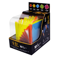 Yuxin HuangLong 10x10x10 Square Shape Magic Cube Competition Twist Puzzle 11cm High Quality Colorful