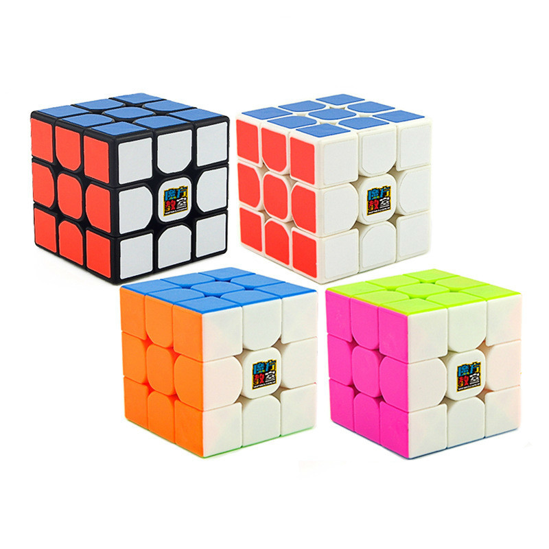 Humorous 3x3x3 Three Steps Mr.m Magic Neo Fidget Cube Smooth Competition Speed Ratio Match Special-purpose Magnetic Force Location Toys Puzzles & Games Magic Cubes