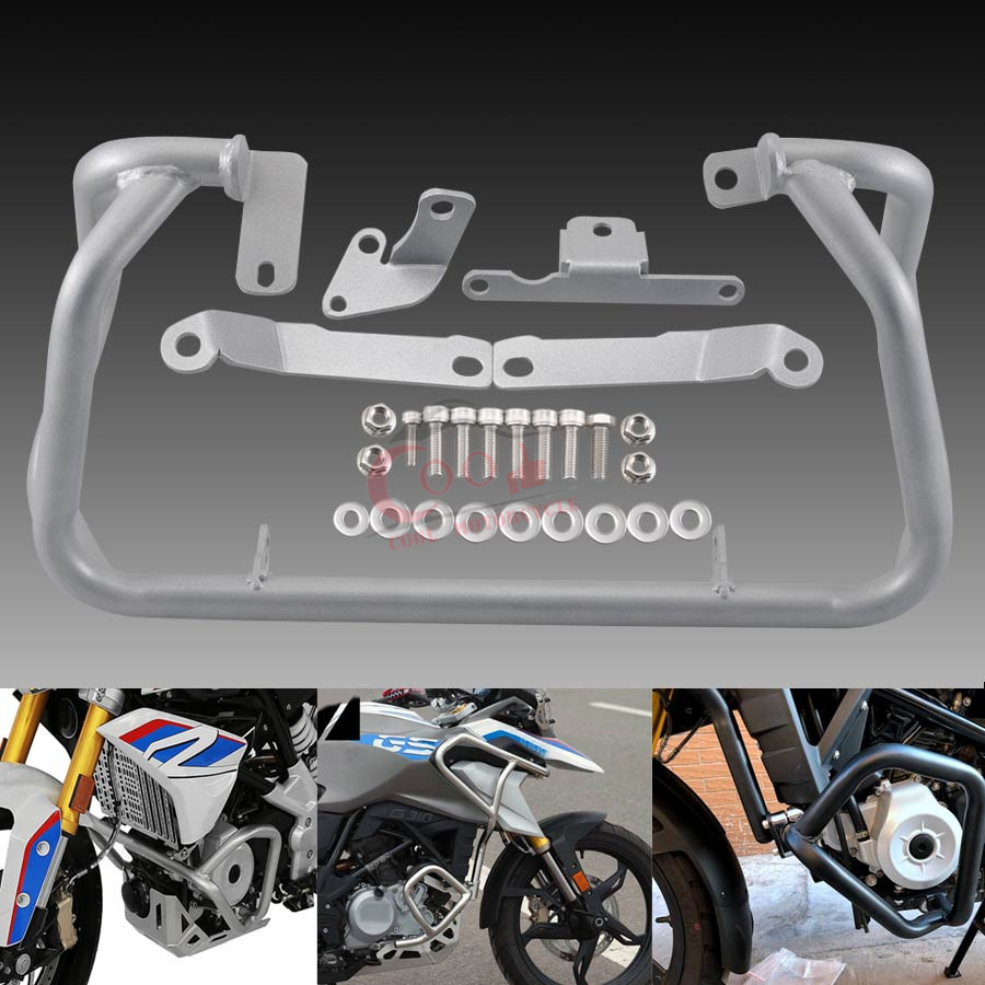 Fits For BMW G310GS <font><b>G</b></font> 310GS G310R <font><b>G</b></font> <font><b>310R</b></font> 2017 2018 2019 Motorcycle Crash Protection Bars Engine Guard Protective Frame image