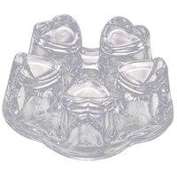 Big Heart Shape Glass Tea Pot Warmer,Flower Teapot & Coffee Pot Heating Base,High Temperature Resistant,Tea As Gifts