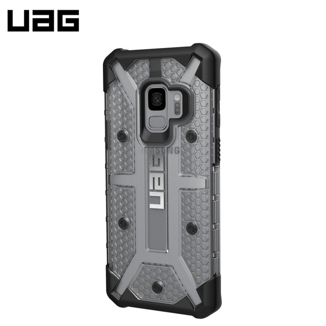 Защитный чехол UAG Plasma Samsung Galaxy S9 цвет серый/GLXS9-L-IC/32