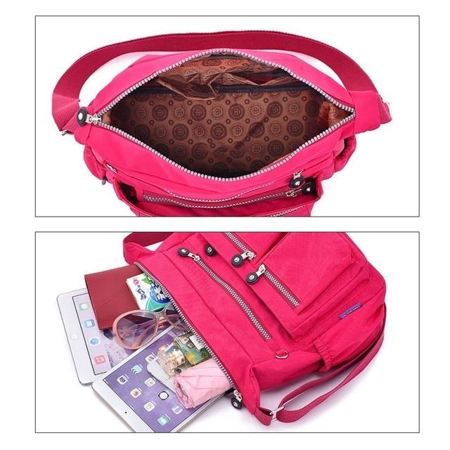 TTOU Ladies Fashion Shoulder Bags for Women Designer Waterproof Nylon Handbag Zipper Purses Messenger Crossbody Bag sac a main 6