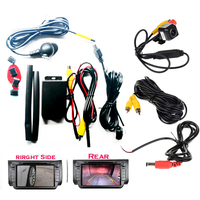 Camera Video Automatic Switch Control box with Right blind spot system+rear view camera Parking System