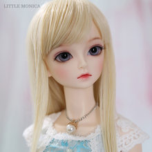 Littlemonica Sophia 1/3 BJD SD Doll Body Model Girls Boys Toys Eyes Joint Body Sexy Woman Resin Figures For Xmas Or Birthday(China)