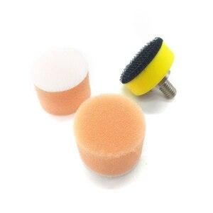 "Image 3 - 1"" Inch 60 pcs 25mm Polishing Sponge 2 pcs M6 Polishing Plate for Polishing Machine Polishing Set"