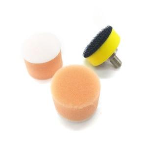 Image 3 - Éponge à polir 1 pouce, 60 pièces, 25mm, plaque à polir M6 pour Machine à polir