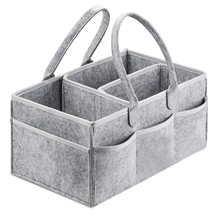 Organizador de fraldas do bebê caddy portátil titular saco para mudar de mesa e carro, berçário essentials armazenamento escaninhos