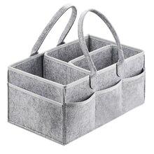 Pannolino del bambino Caddy Organizer Portable Sacchetto del Supporto per Cambiare Tavolo e Auto, sacchetto di Scuola Materna Essentials contenitori di Stoccaggio
