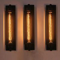 Modern Corridor Vintage Retro Industrial E27 LED Wall Light Ceiling Wall Lamp Led W filament Indoor LED Light Lamp 110 220V