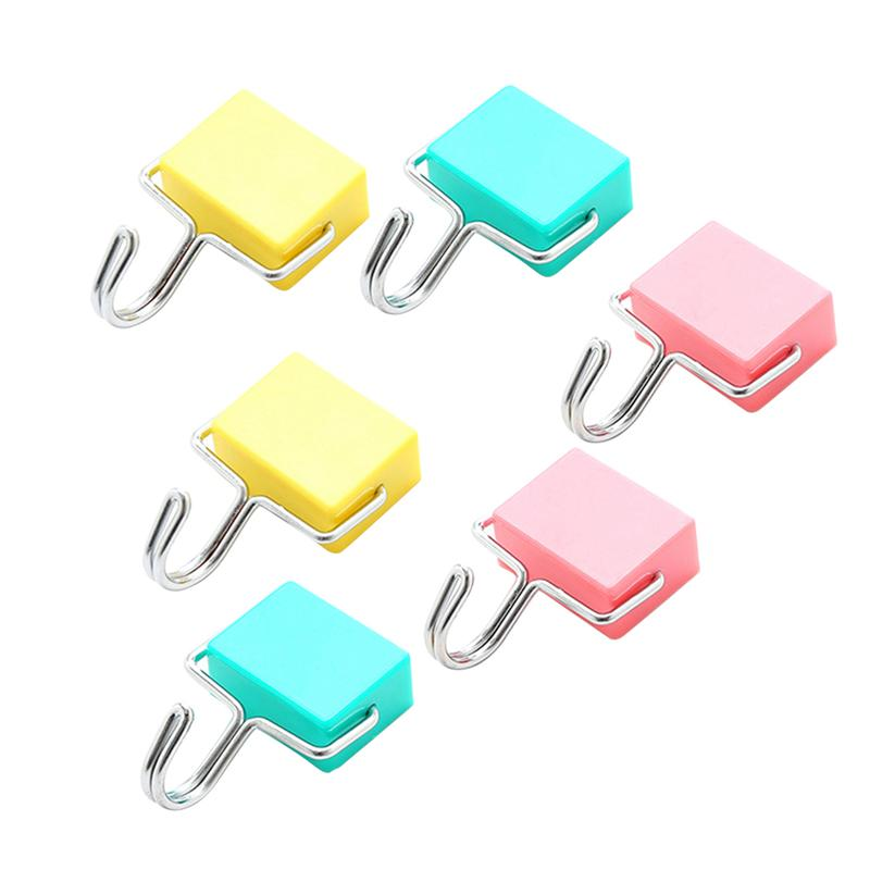 Magnetic Hooks Powerful Creative Seamless Super Suction Magnet Hangers Hanging Hooks For Kitchen Bathroom