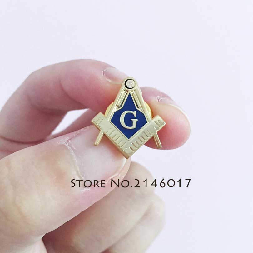 Square and Compass with G Rhinestone Masonic Freemason Lapel Pin Badges  Brass Material Brooch and Pins Masonry-in Pins   Badges from Home   Garden  on ... d808b124331d