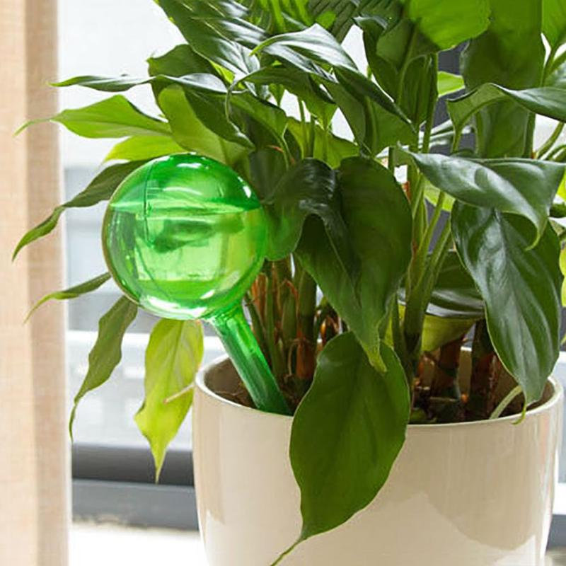 Flower Automatic Watering Device Houseplant Plant Pot Bulb Globe Garden House Waterer Water Cans Sprinkler Nozzles image