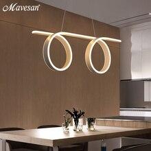 Затемнения светодиодный подвесные светильники для столовой и кухни номер шнур подвесной светильник лампа белая рамка осветительный прибор
