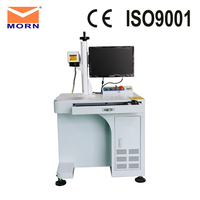 CNC fiber laser marking machine engraving with 2D worktable for metal MT F20A