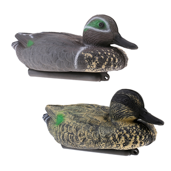 2 Pieces XPE Floating High Simulation Duck Decoy Hunting Decoy Pests Scarer Garden Decor Lawn Ornament trampas para pajaros hunting gadwall duck decoy electric flying duck motorized duck decoy with remote control