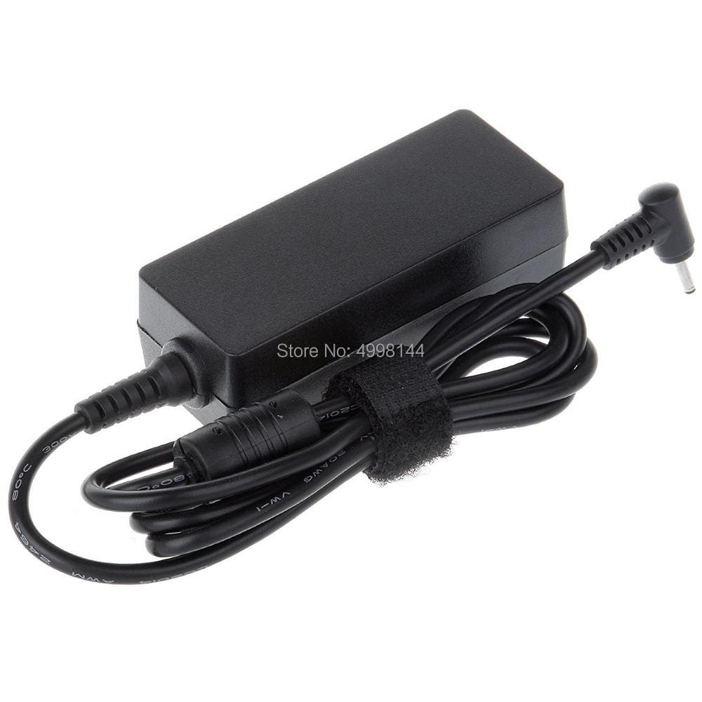 Netbook power adapter 19V2 1A laptop accessories EeePC X101CH T101H charging cable without power cord in AC DC Adapters from Consumer Electronics