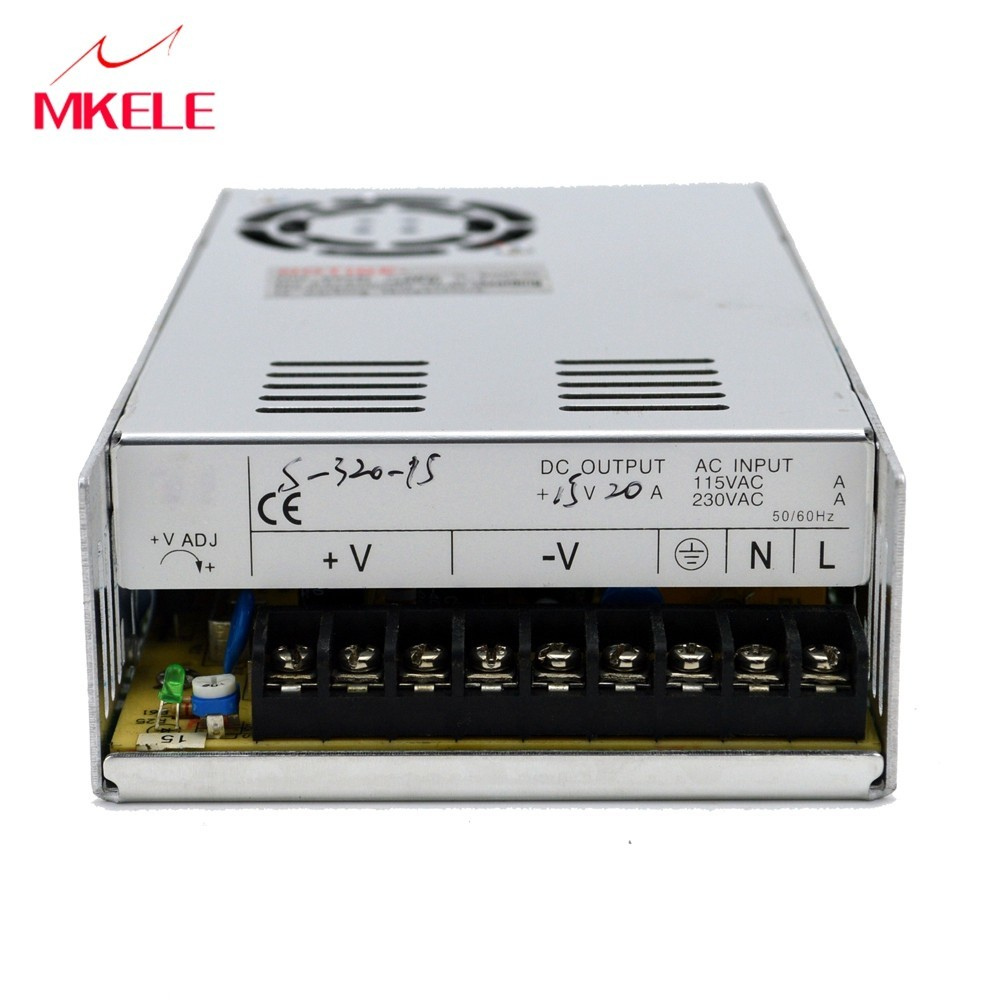 Alimentation 48 volts 320 W convertisseur ac-dc 48 v alimentation à découpage alimentation S-320-48 alimentation à découpage 48 v
