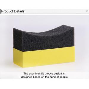 Image 4 - Professional 2PCS Multi functional Car Sponge Cleaning EVA Household Sponge Of Peak Performance Car Accessories