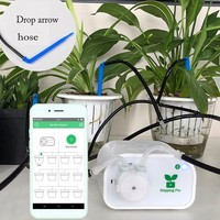 Creative Mobile Phone Control Intelligent Garden Automatic Watering Device Succulents Plant Drip Irrigation System Timer Potted