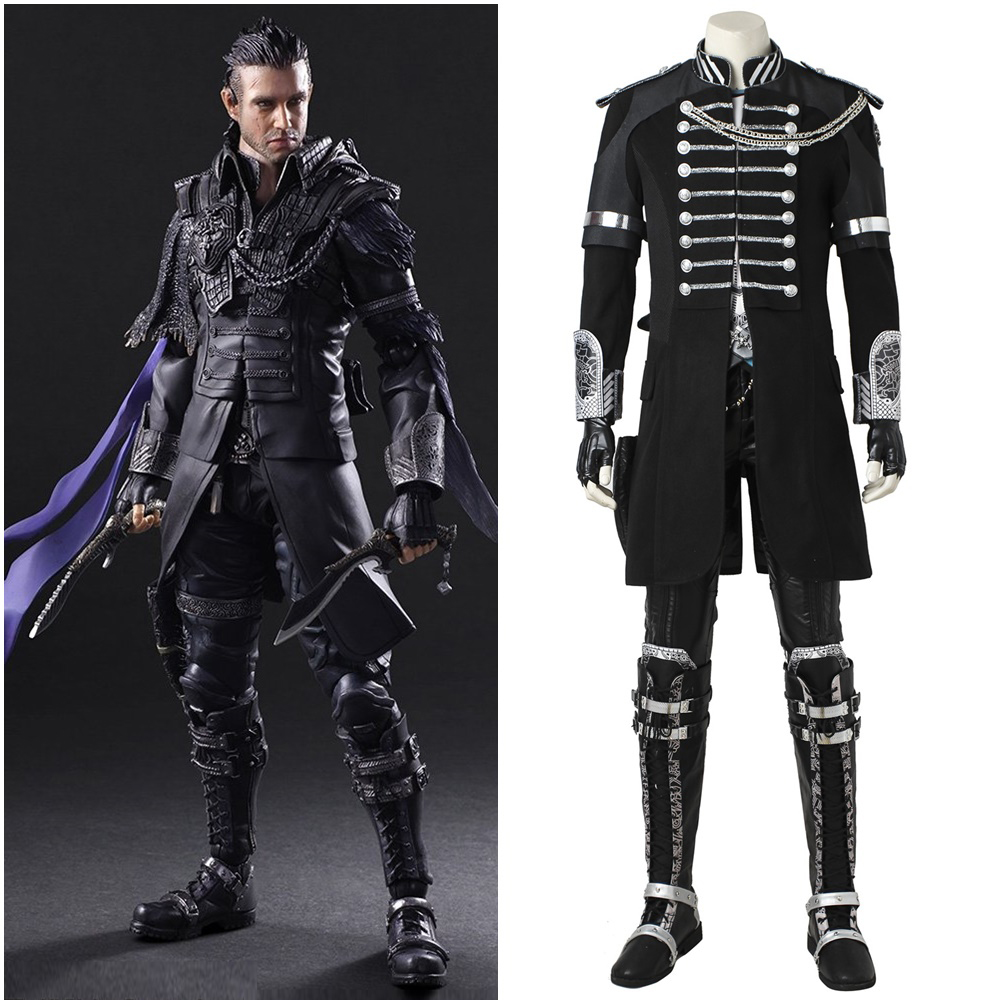 Final Fantasy XV Kingsglaive Nyx Ulric Cosplay Costume Top Grade Handmade