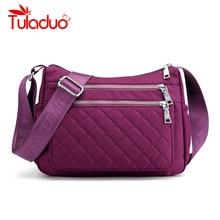 Waterproof Nylon Handbag Women Fashion Travel Crossbody Shoulder Bag Canvas Female Casual Totes Large Ladies Messenger Bags New недорого
