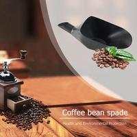 Plastic Coffee Bean Shovels Black Serving Display Tray Grain Ice Shovel Flour Tea Scoop Household Big Kitchen Coffee Bean Tools