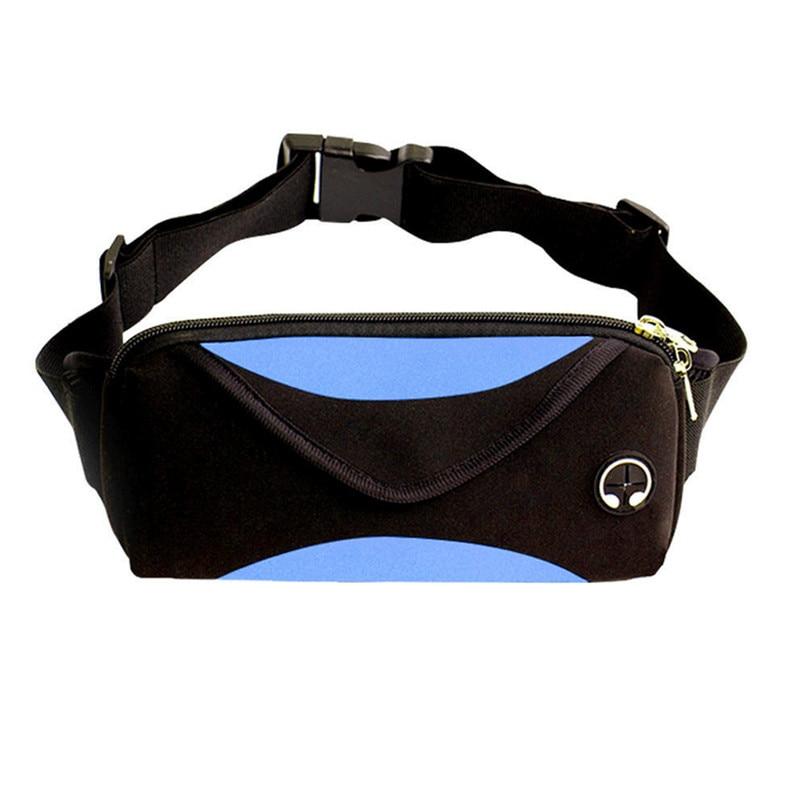 Black Waist Pack Bag Fanny Pack Sling Bag for Men /& Women Waterproof Lightweight Chest Shoulder Bag Travel Pocket with Adjustable Strap for Outdoors Workout Casual Running Hiking Cycling