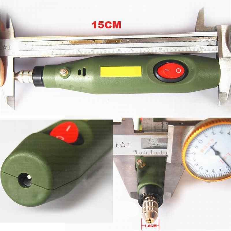 10 conjunto DIY Broca Elétrica Máquina de Polimento de Moagem Caneta Gravura De Madeira faca Cinzel de Madeira Jade Que Cinzela Tooll