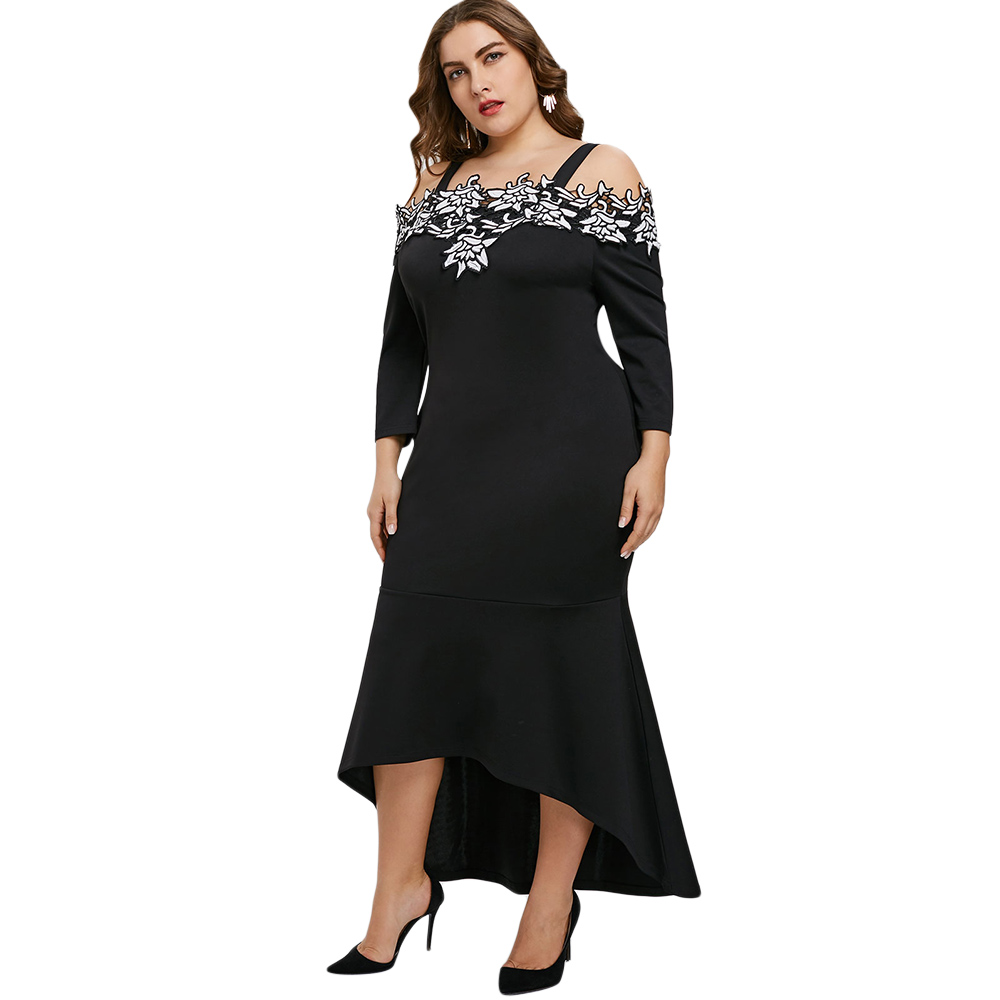 Bodycon dress with ruffles at the bottom queen street toronto